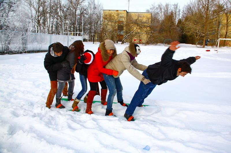 лыжи тимбилдинг