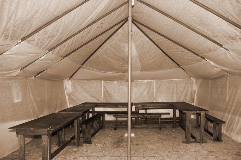 офицерская армейская палатка