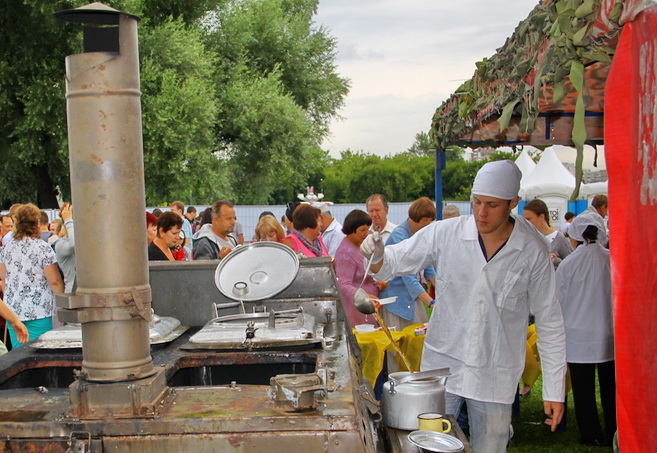 аренда полевой кухни