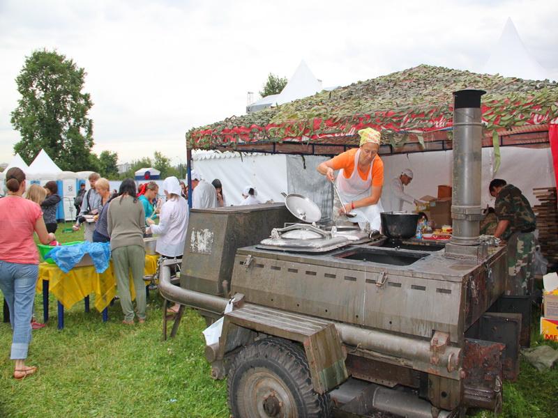 кухня полевая на мероприятие в аренду