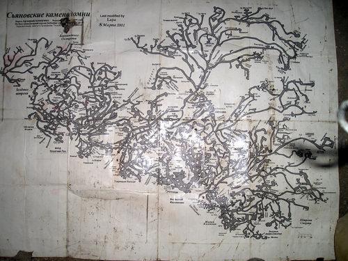 карта сьяновская каменоломня