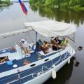 прогулка на яхте _в Москве_